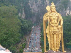 Rondreis Kinderen Maleisie Batu Caves